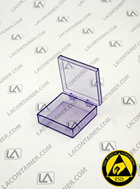 Laboxx 202005-BAS Blue Static Dissipative ESD Plastic Boxes